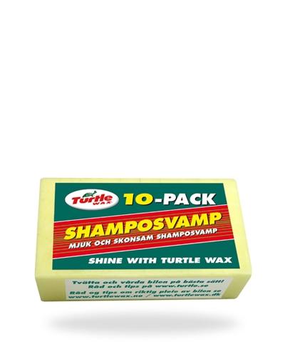 Turtle Wax Shampoosieni 10 kpl tuotekuva
