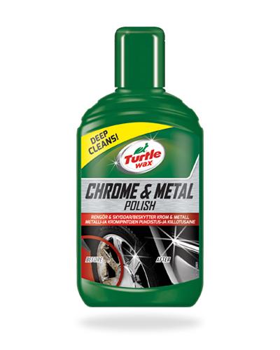 Turtle Wax Chrome & Metal Polish tuotekuva