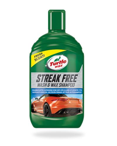 Turtle Wax Streak Free Wash & Wax tuotekuva