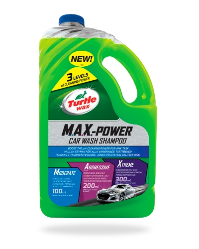 Turtle Wax M.A.X.-Power Car Wash Autoshampoo tuotekuva