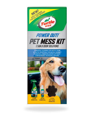 Turtle Wax Pet Mess Kit
