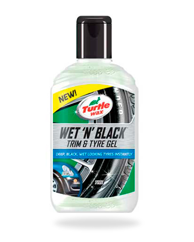 Turtle Wax Wet 'n' Black Trim & Tyre Gel